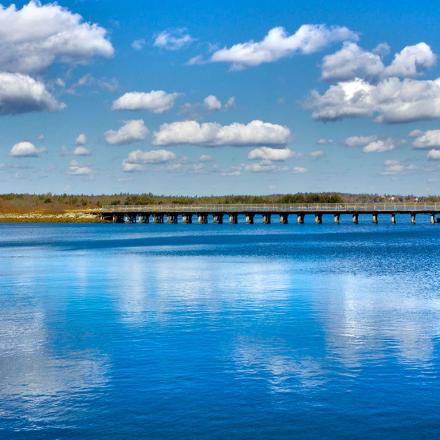 HDR Bridge Scenery