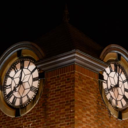 Night Shot Monument